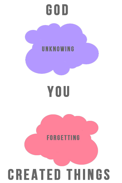unknowing forgetting